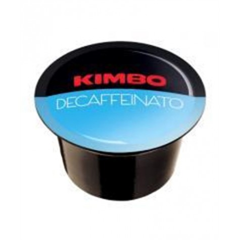 Кофе Kimbo Blue Decaffein в капсулах 96 шт